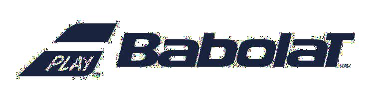 Die Abbildung zeigt das Logo der Marke Babolat