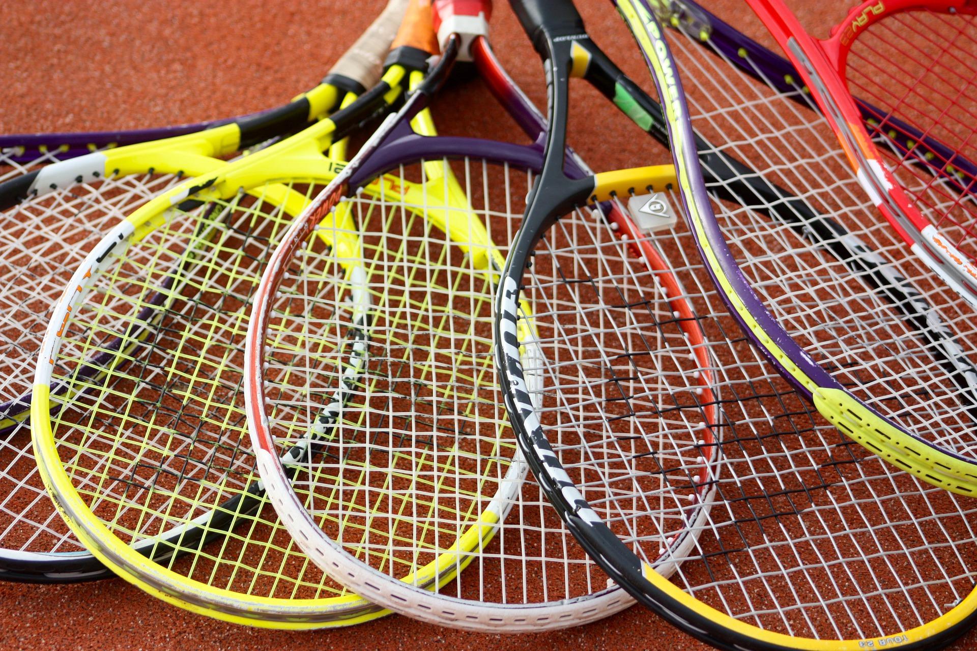 Bild von Tennisschlägern